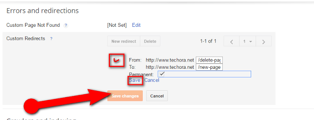 image : How To Set Custom Redirect URL in Blogger Blogs