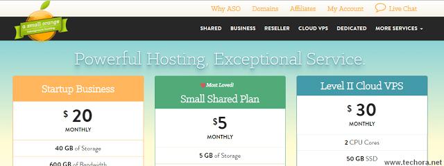 image of asmallorange best web hosting company in the world