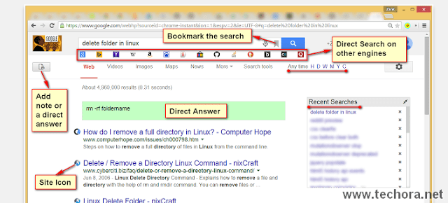 image of better search best google chrome extensions