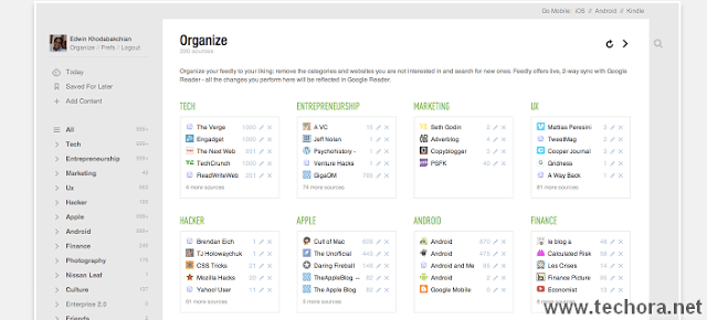 image of feedly best google chrome extensions