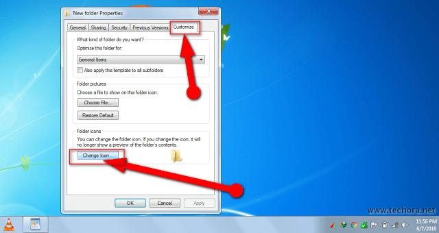 image of make a  secret hidden folder in windows