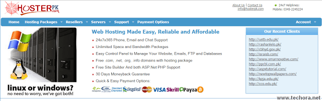 image of hosterpk best web hosting company in the world