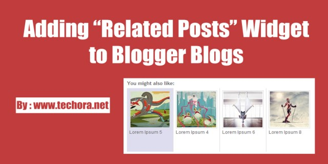 image : How to Add Related Posts Widget With Thumbnails in Blogger