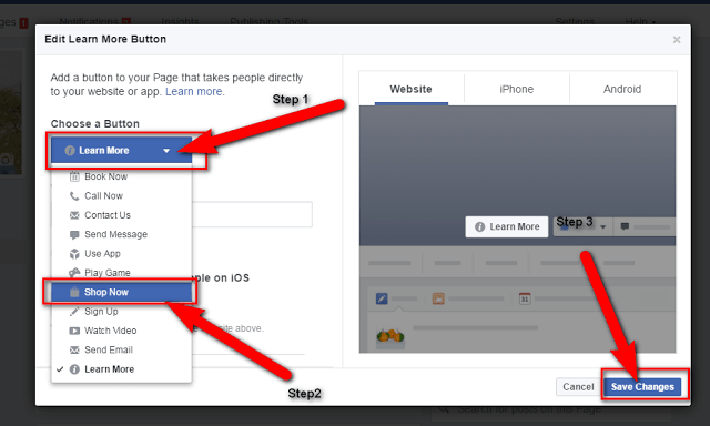 image: how to products and services selling on facebook page