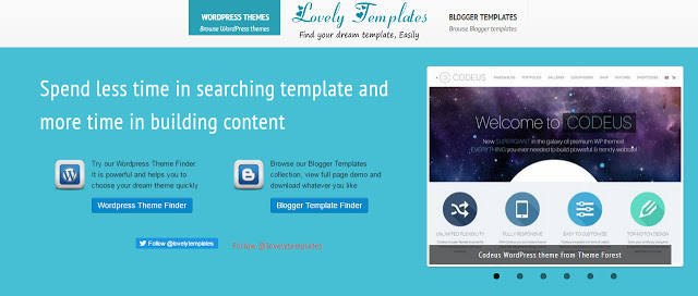 image of lovelytemplates the best website to download free blogger templates