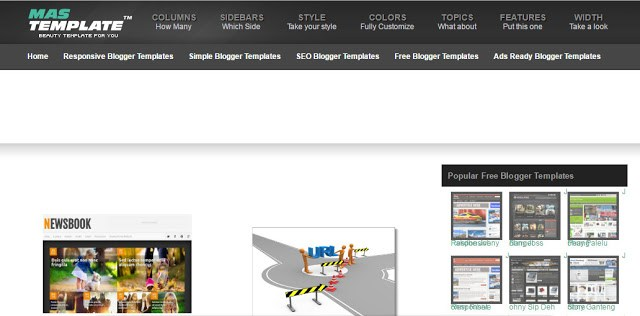 image about mastemplates the best site to download free blogger templates