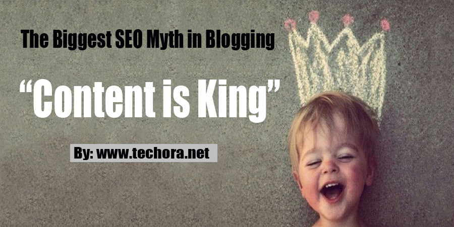 """image: """"Content is King"""" - The Biggest SEO Myth in Blogging"""
