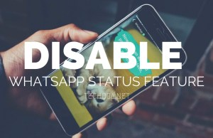 How to Disable WhatsApp Status Feature on Android Phone