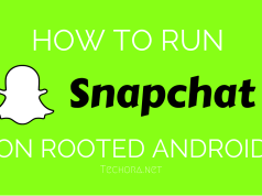 Run Snapchat In Rooted Android