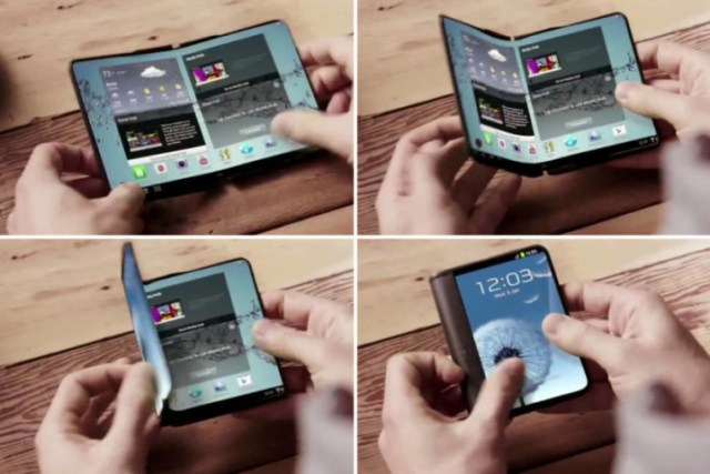 Samsung would launch a oldable smartphone prototype at MWC