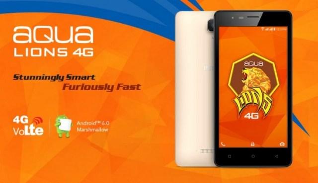 Aqua Lions 4G specs