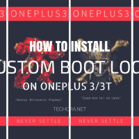 How to Install Custom Boot Logo on OnePlus 3/3T