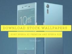 Download Sony Xperia XZ Premium and Xperia XZs Stock Wallpapers