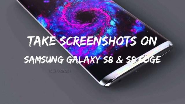 Take Screenshots on Samsung Galaxy S8 and S8 Edge [How To]