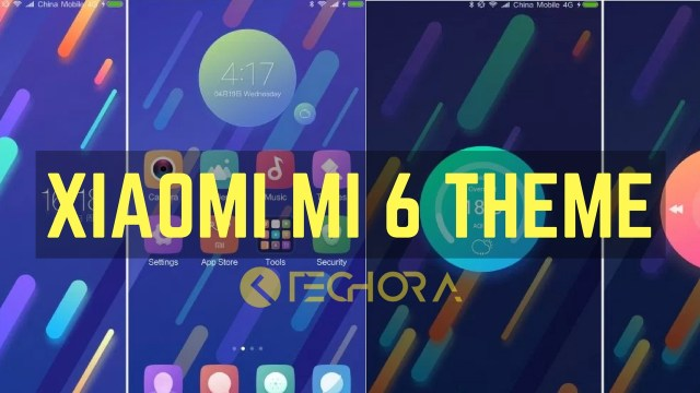 How to Install Official Xiaomi Mi 6 Stock Theme on Any Xiaomi Devices