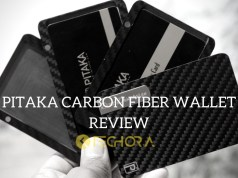 PITAKA carbon fiber magnetic wallet review