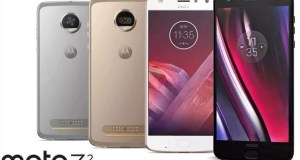 Moto Z2 Force, Z2 Play Leaked in Official Press Render
