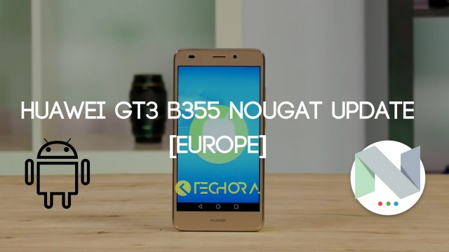 Download Huawei GT3 B355 Nougat Update [Europe]