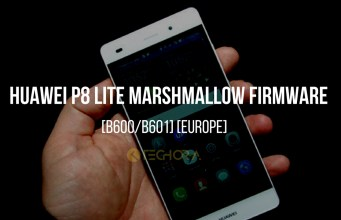 Download Huawei P8 Lite Marshmallow Firmware [B600/B601] [Europe]