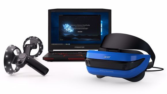 Microsoft launched mixed-reality headset and controllers for $399