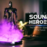 Kalium Sound Heroes Bluetooth Speaker with LEDs and Smoke Machine