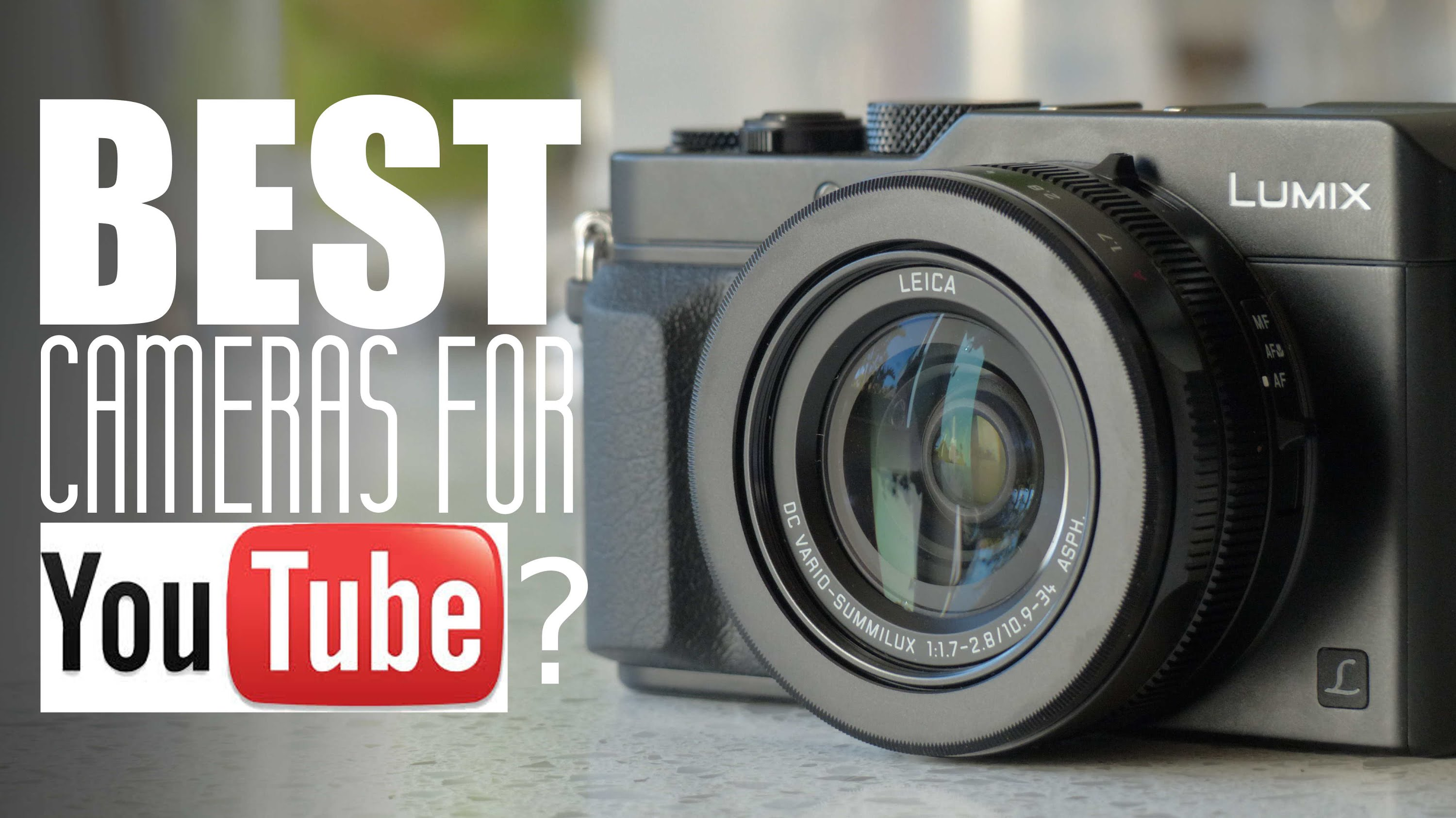 Good cameras to use for youtube videos