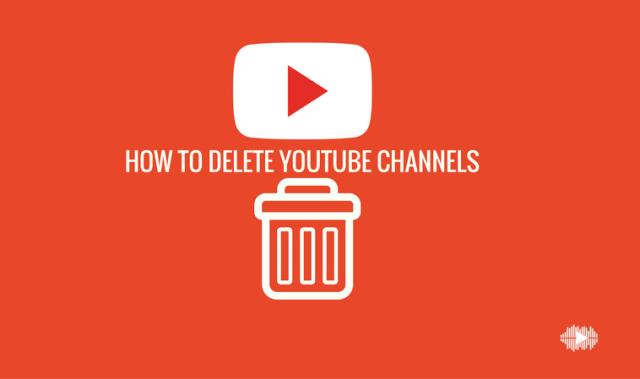 youtube account delete