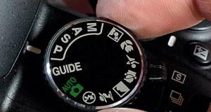 Digital Camera Program Modes