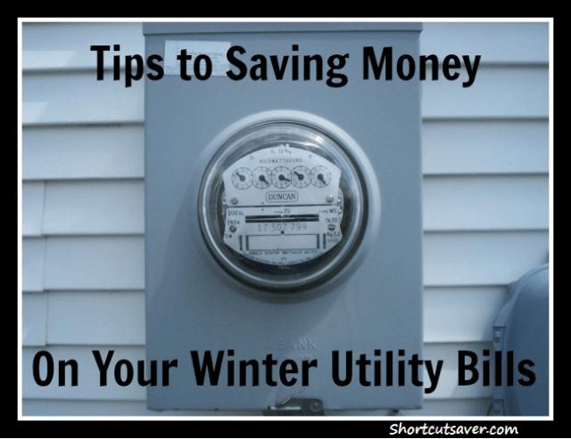 save utility bill
