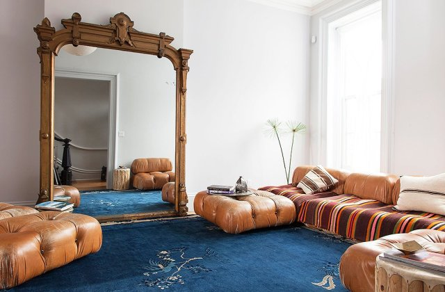 Adjust the frame with home decor How to make a stylish decoration with a mirror in your home