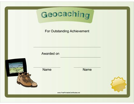 Geocaching: A GPS-based game