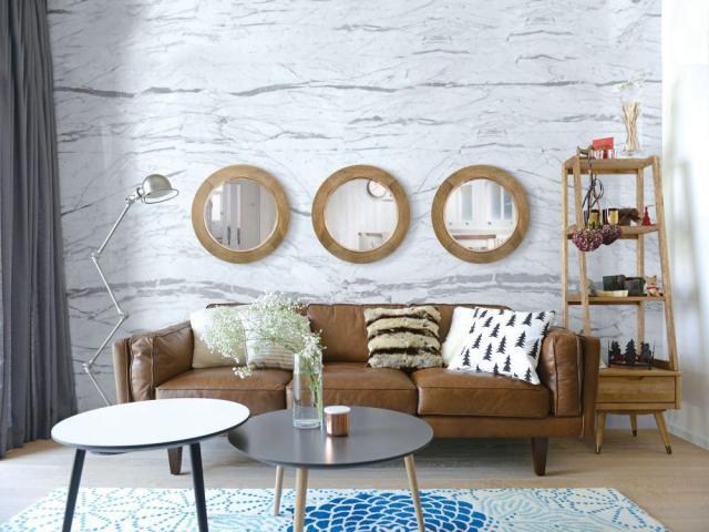 Increase space with the right mirror How to make a stylish decoration with a mirror in your home