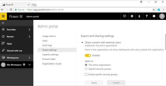 administration What you should know about power BI System Governance