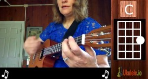 Play ukulele tunes with two chords: C and G7