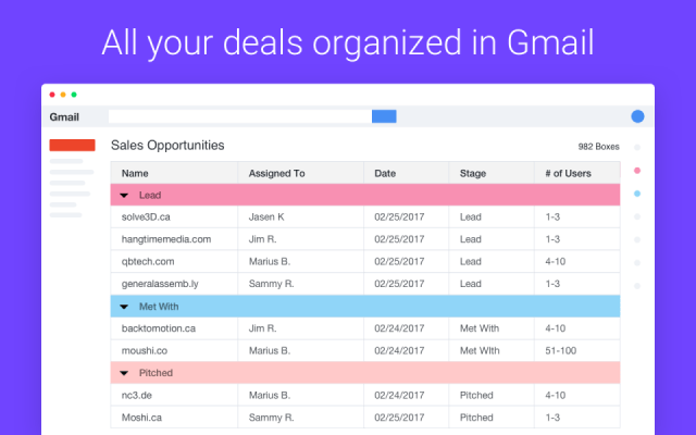 Streak Looking for the perfect G Suite CRM for your business? Streak and NetHunt might be the best options