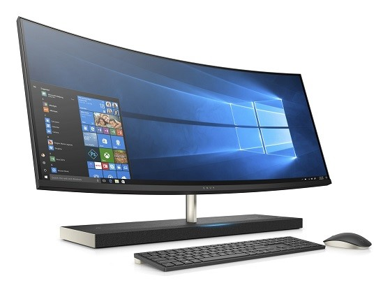 HP Envy Curved All-in-One Desktop PCs