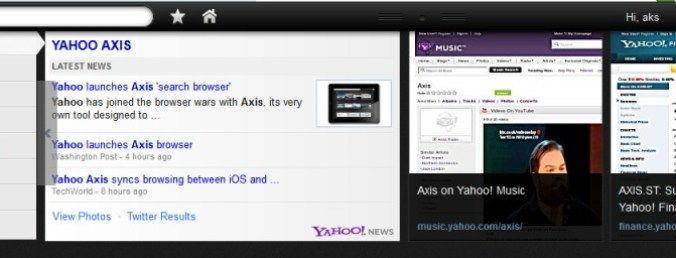 Axis Search