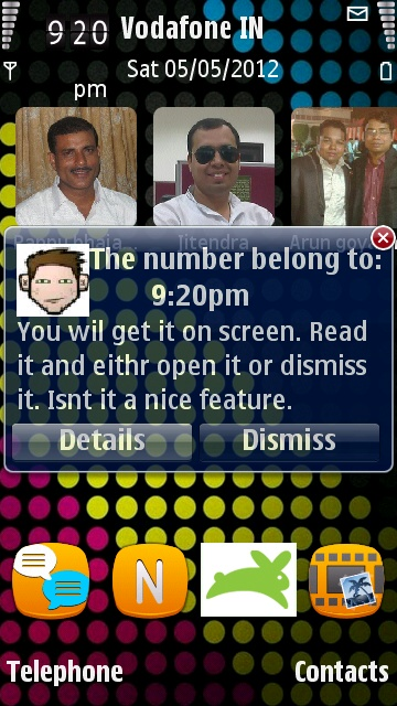 SMS application for Symbian
