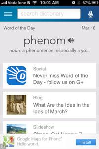 DictionaryDotComHome