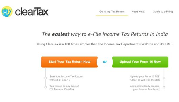 ClearTaxFilling