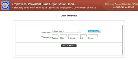 Activate Universal Account Number (UAN) and Link PF Account -