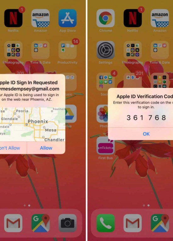 Copy 6-digit PIN - How to Transfer Photos from iPhone to PC