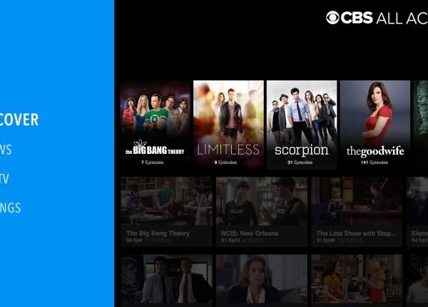 Interface of CBS App
