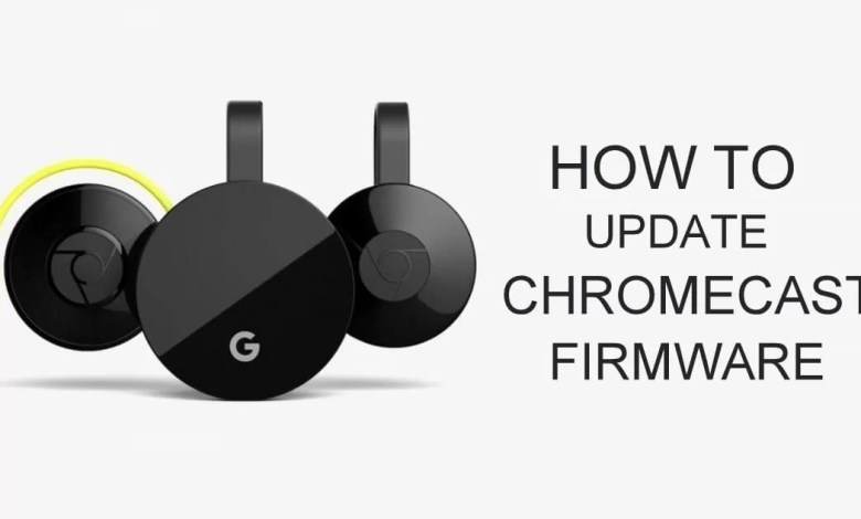 Update Chromecast