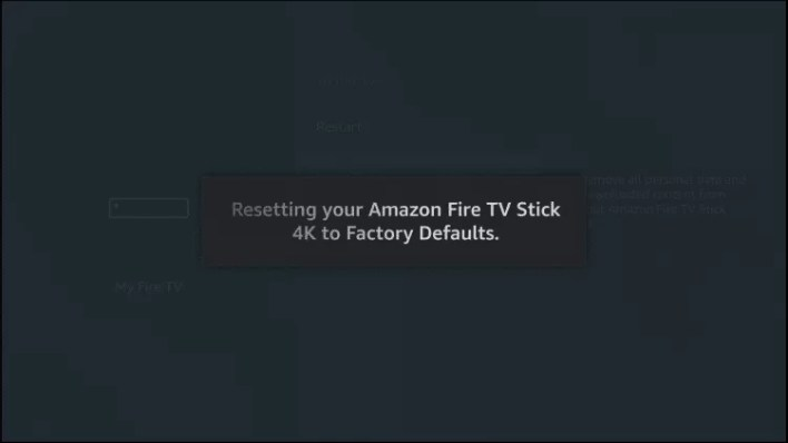 How to Reset Firestick