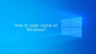 Photo of How to Clear Cache on Windows [2 Methods]