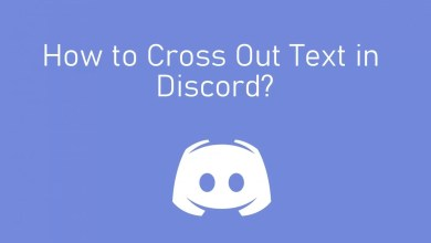 Cross out text in discord