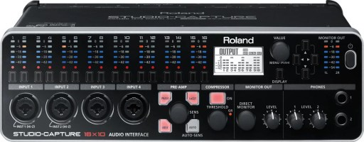 Roland STUDIO-CAPTURE - Best Audio Interface for Mac