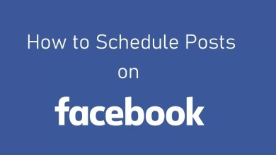 Schedule posts on Facebook
