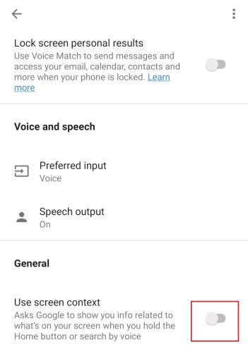 enable the Google Assistant